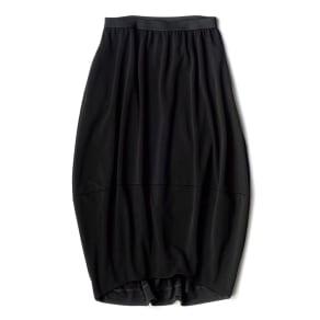 トリアセテート混 ジャージー コクーンフォルム スカート 写真