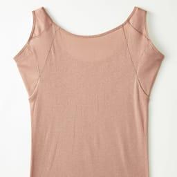脇にフィットする 汗取りインナースリーブレス(防水布入り) Back Style