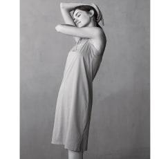 【着丈約92cm】 衣類を労る 汗取りシリーズ(防水布なし) スリップ