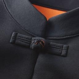 チャイナカラーダブルフェイスチュニック Detail