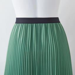 マキシサーキュラー風プリーツスカート
