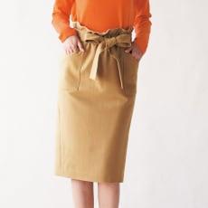 強圧縮ウール素材シリーズ ハイウエスト スカート