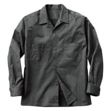 開襟シャツジャケット