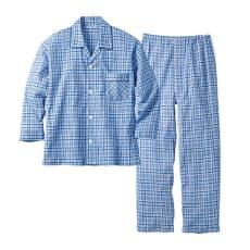 播州織 シャツパジャマ(日本製)