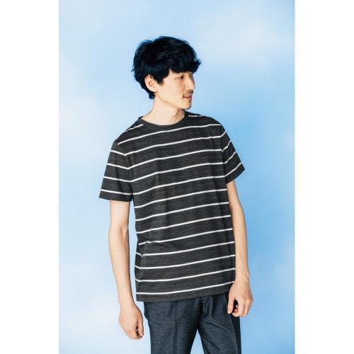 スペック染めボーダーTシャツ 画像