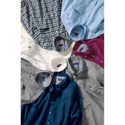 SCENE(R)/シーン 7DAYSジャパンメイドシャツシリーズ ツイル起毛ネイビー SCENE(R)/シーン 7DAYSジャパンメイドシャツシリーズ