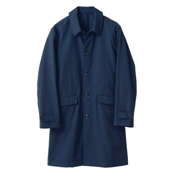 ベスト付き撥水ステンカラーコート (ア)ネイビー コート