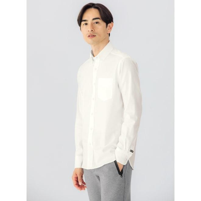 SCENE(R)/シーン 7DAYSジャパンメイドシャツシリーズ ホワイトツイル コーディネート例