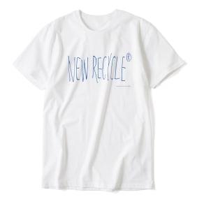 「NEW RECYCLE」 オーガニックコットンTシャツ 写真