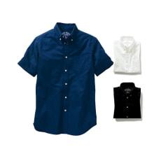 【7L】 オックスフォード ボタンダウンシャツ (半袖)