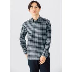 SCENE(R)/シーン 7DAYSジャパンメイドシャツシリーズ ツイルグレーチェック