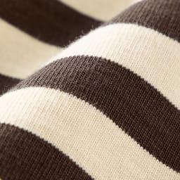 フランス「BUGIS」社 バスクシャツシリーズ ショートスリーブ 目の詰まった、しっかりと厚みのある生地は「BUGIS」社製ならでは。肌ざわりのよさも魅力です。