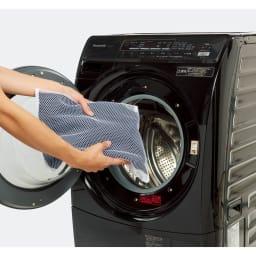 洗える軽量 セットアップシリーズ ジャケット 洗濯機ネットに入れてそのまま洗えます