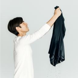 洗える軽量 セットアップシリーズ ジャケット 洗濯機で洗えて、乾くのも早いので毎日着ることができます