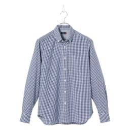 SCENE(R) 7DAYS ジャパンメイドシャツシリーズ ミニギンガム ON/OFF問わず使いやすい、小さなチェック柄。