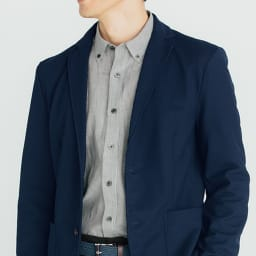 SCENE(R) 7DAYS ジャパンメイドシャツシリーズ ネイビーオックス SCENE(R) 7DAYS ジャパンメイドシャツシリーズ 着用例