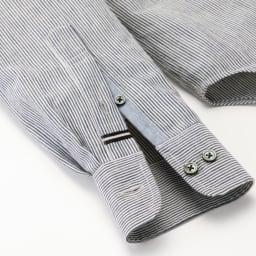 SCENE(R) 7DAYS ジャパンメイドシャツシリーズ ネイビーオックス ディテールまで配慮 長く愛用していただけるよう、細かい部分までこだわりを。