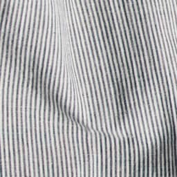 SCENE(R) 7DAYS ジャパンメイドシャツシリーズ 綿麻ストライプ 洗いざらしで決まる素材 ラフな雰囲気で、洗いざらしでも着られる素材を厳選。