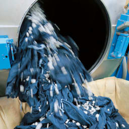 「カイハラ」 ジャパンメイドデニム ヴィンテージ加工ジーンズ 【ストーンウォッシュ加工】軽石と一緒に洗うことで、こなれた高級感のある仕上がりに。