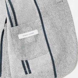 からみ織サマージャケット メッシュのように涼しいからみ織。内側はパイピング仕様で、裏地はなくして、軽快かつ美しいシルエットを実現。