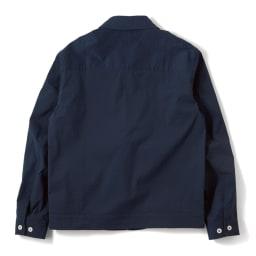 「COOLMAX(R)」 シアサッカーブルゾン Back Style