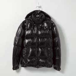 「DICROS」×「ALLIED」 軽量ダウンジャケット (イ)ブラック