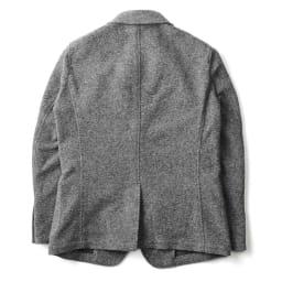 「MAPEL」 スライバーニットジャケット Back Style