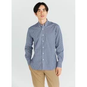 SCENE(R) 7DAYS ジャパンメイドシャツシリーズ ミニギンガム 写真