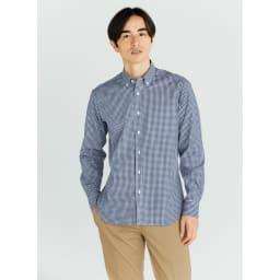 SCENE(R) 7DAYS ジャパンメイドシャツシリーズ ミニギンガム コーディネート例