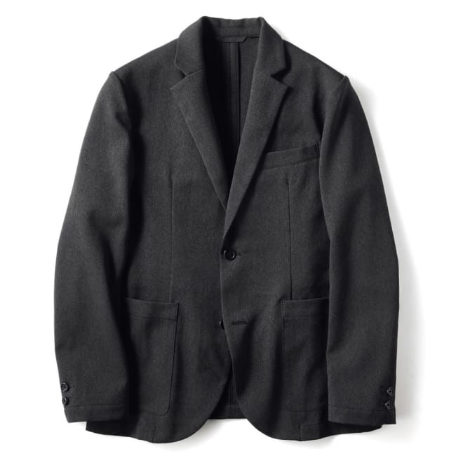 ウールライク ウォッシャブル ストレッチ ジャケット