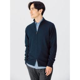 SCENE(R)/シーン 7DAYSジャパンメイドシャツシリーズ シャンブレーサックス 着用例