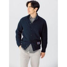 SCENE(R)/シーン 7DAYSジャパンメイドシャツシリーズ オックスギンガム 着用例