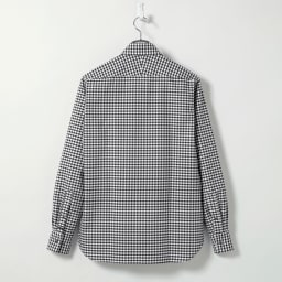 SCENE(R)/シーン 7DAYSジャパンメイドシャツシリーズ オックスギンガム Back Style