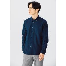 SCENE(R)/シーン 7DAYSジャパンメイドシャツシリーズ ツイル起毛ネイビー