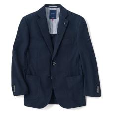 「COOLMAX(R)」 サマーニットジャケット