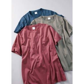 「Besani」 超長綿ダブルシルケットTシャツ 写真