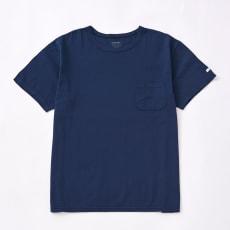 ビワコットン クルーネック ポケット Tシャツ