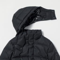 「TOPTHERMO」 ダウンミックスジャケット フード取り外し可能