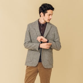 「Harris Tweed」 ウールジャケット 写真