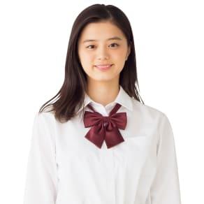 形態安定 長袖シャツ 写真