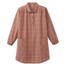 先染めかっぽうプルオーバーシャツ