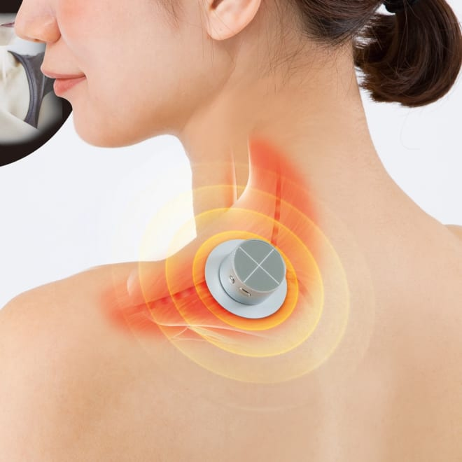 家庭用低周波治療器 ontou(おんとう) 【お得な2個組】 腕がズーンと重い…