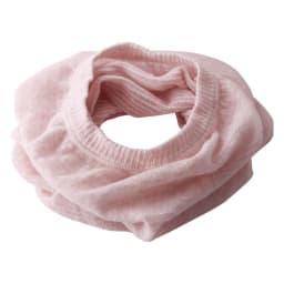 ふんわり綿麻UVネックカバー (2枚組) ピンク