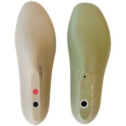 あとりえOKADA 5Eストレッチ甲ゴムスニーカー 足指ゆったり幅広5Eワイズ 親指の付け根部分をふくらませた特別設計の靴型を採用。