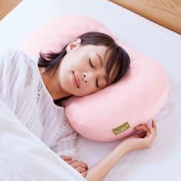 リンクルケア 美容枕110° ゆるやかな凹凸で顔まわりの肌圧を軽減