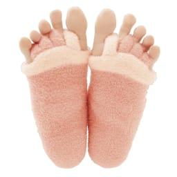 足指開くクッション付ソックス (2足組) 足指の間がパッと広がる!