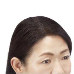 インスタントカラー ヘアファンデーション 9g 使用後 白髪・薄毛をサッと隠せる