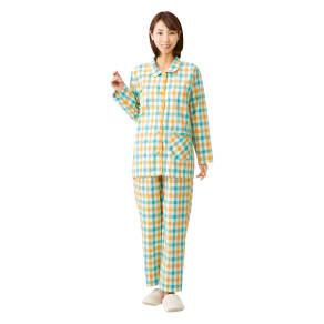 綿100%先染めパジャマ 写真