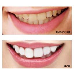 ビクトリアローズ ホワイトローズ ティースジェル(医薬部外品) 60g お得な2本組 歯が白くなるとこんなに印象が変わります。さらに、ローズの吐息で魅力的に! ※イメージです