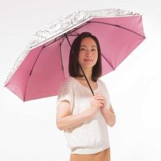 ~Fortuna~ 晴雨兼用折りたたみ遮熱日傘 写真